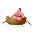 Bather vector image