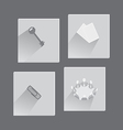 Office Items and Concepts in Set of Icons vector image