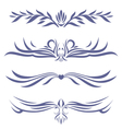 tattoo set four vector image