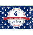Symbol American Independence Day vector image