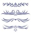 tattoo set four vector image