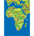 Africa geography vector image vector image