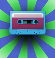 Blue tape vector image