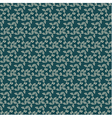 Seamless floral repeating pattern vector image