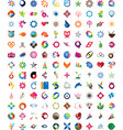 Huge collection of trendy icons vector image vector image