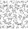 Seamless pattern with active sportsmen vector image