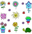 art of object spring vector image