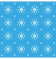 Christmas pattern with snowflakes vector image