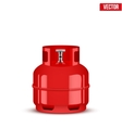 Propane Gas small cylinder vector image