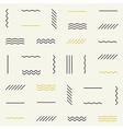 Geometric lines seamless pattern vector image