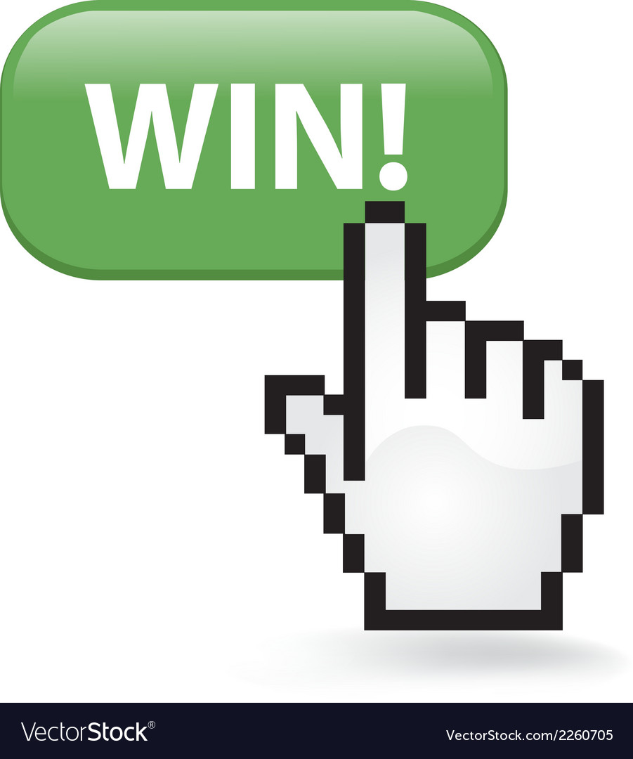 Win button vector