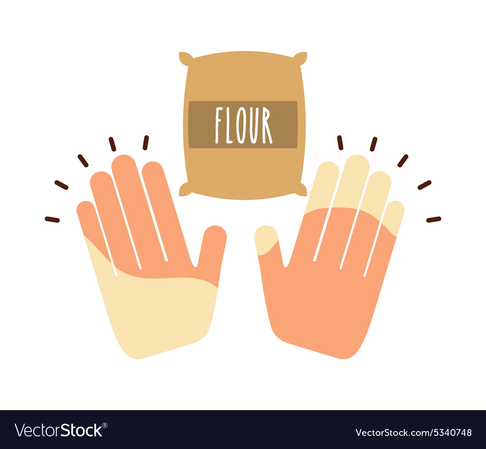 Cooking ingredients vector