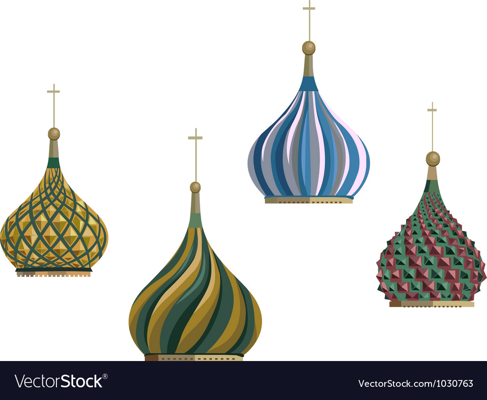 Russian objects vector