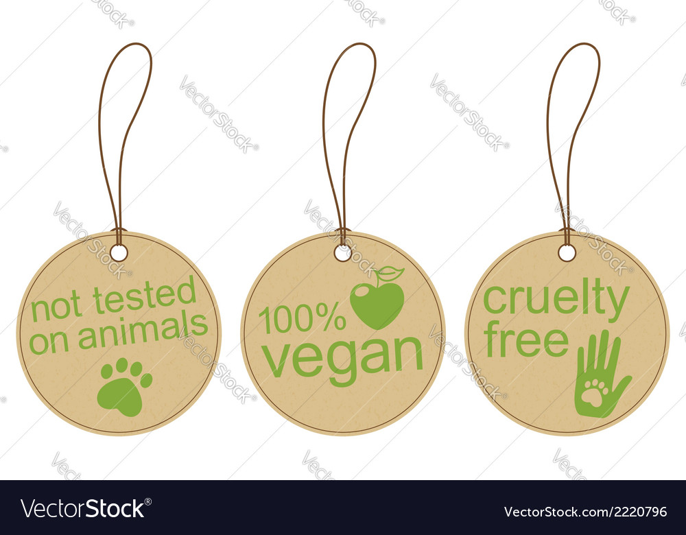 Eco friendly tags vector