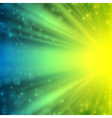 Abstraction lens flare background vector image