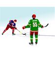 al 0834 hockey 03 vector image vector image