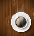 Cup of coffee Stock vector image