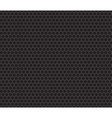 Black honeycomb seamless pattern vector image
