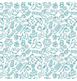 background for little boys and girls doodle vector image