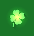 Irish Shamrock Clover Leaf vector image