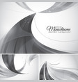 monochrome abstract background vector image