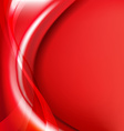Red Background With Line vector image vector image