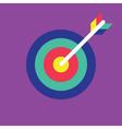 Archery Icon target icon vector image