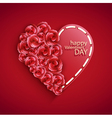 hearts for Valentines Day vector image