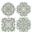 Set aztec ornaments vector image vector image