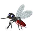 cute mosquito cartoon vector image