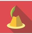 Irish hat icon flat style vector image