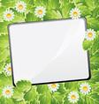 blank summar scratchpad vector image