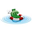 Financial crash vector image