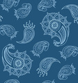 Seamless pattern in Turkish style vector image
