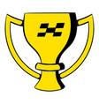 trophy cup icon icon cartoon vector image