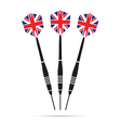 uk darts vector image