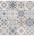traditional ornate portuguese decorative tiles vector image