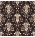Damask flower vintage seamless pattern vector image