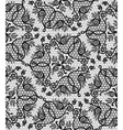 floral seamless lace pattern vector image