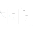 Kiribati Black White Map With Major Cities vector image vector image