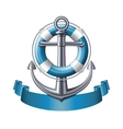 Anchor emblem vector image
