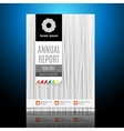 Modern Brochure Annual report Design Template vector image