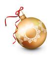 Christmas ornament vector image
