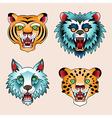 tattoo animals vector image vector image