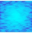 Abstract blue lowpoly designed background vector image