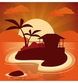 Vacations and summer design vector image