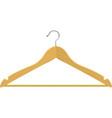wooden hanger vector image