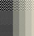 pattern grey geometric vector image vector image
