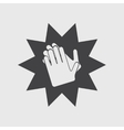 applause icon vector image