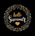 handwritten summer sale in vector image